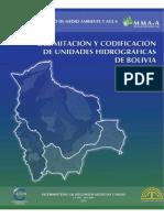 Unidades Hidrograficas de Bolivia