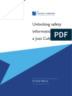 Unlocking Safety Information Through a Just Culture
