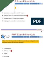 PMP Quiz 1 PPT