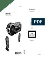 Manual Del Usuario de Philips AZ2537