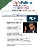 Wake Up to Politics - May 15, 2014