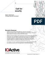 IOActive SATCOM Security WhitePaper