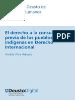 El Derecho a la Consulta Previa en el Derecho Internacional