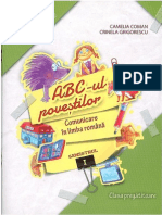 ABC-ul povestilor Comunicare in Limba Romană