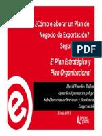Cómo Elaborar Un Plan de Negocios de Exportación (2da. Parte)