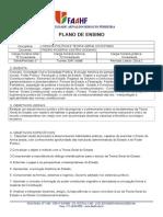 PLANO de ENSINO 2014.1 - TGE Pedro Rogério Castro Godinho