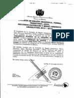 Carta de Aprobacion de La LDIA Comision Amazonica