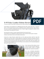Falco Leather Holster It.95 Review