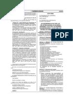 Ley 30055 Modificación de Ley de Seguridad Ciudadana y Otros