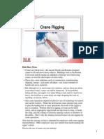 Crane Rigging - Literature