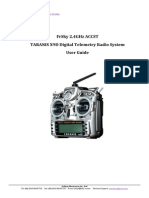 TARANIS X9D Digital Telemetry Radio System User Guide-V1.0.00