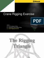 Crane Rigging Exercise by Kiewit - Literature