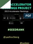 Seed Accelerator Rankings Project -SxSW