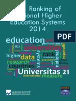 1472014 U21 Ranking - Full Report
