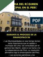 Tema 4 Los Municipios en El Periodo Republicano