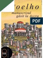 Manuscrisul Gasit La Accra - Paolo Colho