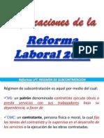 18 Reformas Laborales 2012