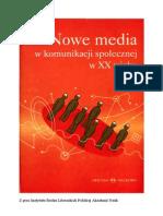 Nowe Media w Kom Społecznej XX w - M. Hopfinger(Word)