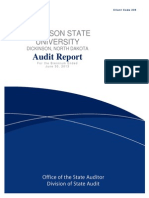 Dickinson State Audit