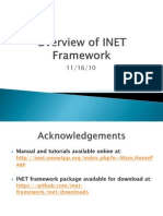 Overview of INET Framework