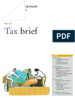 Tax Brief - March 2012