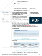 SAP Webdynpro ABAP Interview Questions Part 3