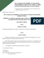 DTC agreement between Jordan and Croatia