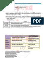 Programación Curricular Anual de Matemática Primero de Secundaria