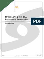 MRD 3187B IRD 30xx Update Guide - 7663C