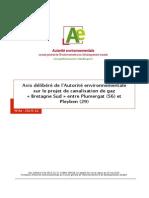 140514 Canalisation Bretagne Sud - Avis Delibere Cle561ef6