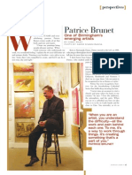 Patrice Brunet-Portico Magazine-March 2008