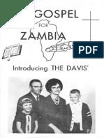 Davis Dean Judy 1967 Zambia