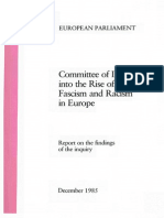 Committee of Inquiry Into the Rise of Fascism and Racism in Europe (European Parliament, Dec 1985)