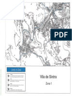 Projecto de Alterações ao Regulamento de Trânsito e Estacionamento do Município de Sintra - Anexo I (Mapa de Zonas)