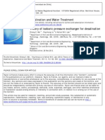 [2012] Theory of Isobaric Pressure Exchanger for Desalination