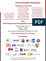 2014 Congressional Viral Hepatitis Screening & Reception