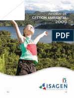 Gestion Ambiental 2009 ISAGEN