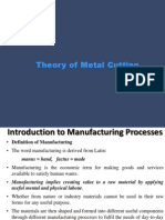 UNIT I Theory of Metal Cutting