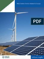Wind Turbine Service Market in Europe 2014-2018