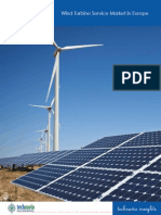 Wind Turbine Service Market in Europe 2014-2018