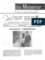 Davis Dean Judy 1985 Zambia