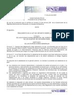 Reglamento de La Ley ISLR 2003