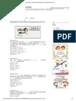 Ejemplos Conectores Gramaticales Nº 01 _ Razonamiento Verbal