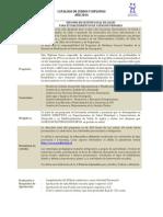 Diploma en Gestion Local de Salud Cat Df 2014