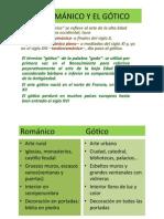 El Románico y El Gótico 6º