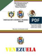 Comparación Económica Colombia – Venezuela - México