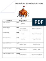 2014 winter carnival math and science booth activities