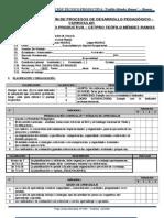 Ficha de Monitoreo y Acompañamiento Pedagógico
