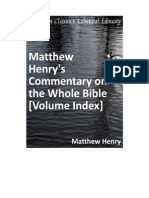 Matthew Henrys Bible Commentary