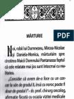 Marturie Pantanasa Sinca Noua